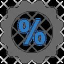 Seo Discount Percentage Icon
