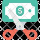 Discount Cut Price Icon