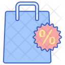 Discount Bag Discount Shopping Discount Icon