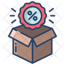 Kartboard Box Open Box Icon