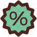 Discount Label Percentage Icon