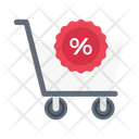 Cart Shopping Discount Icon