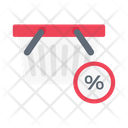 Discount Sale Basket Icon