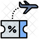 Travel Booking Discount Icon