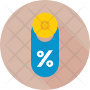 Discount Offer Label Icon