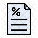 Discount Sale File Icon