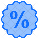 Discount Label Percent Icon