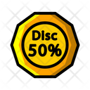 Discount 50 Discount Shopping Discount Icon