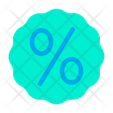 Percentage Offer Sign Icon
