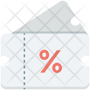 Discount Coupon Ticket Icon