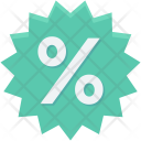 Discount Offer Ratio Icon