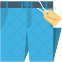 Discount Tag Pants Icon