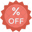 Discount Offer Percent Icon