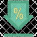 Discount Percentage Label Icon