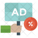 Discount Ad Special Offer Sale Icon
