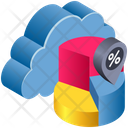 Cloud Computing Graph Icon