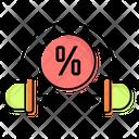 Announcements Discounts Headphones Icon