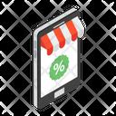 Discount App Mobile App Shopping App Icon