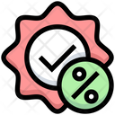 Discount Badge Discount Tag Offer Badge Icon