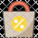 Shopping Bag Discount Shopping Icon