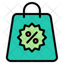 Black Friday Discount Bag Cyber Monday Icon