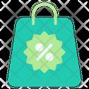 Discount Bag Icon