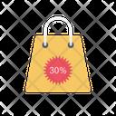 Cart Bag Discount Icon