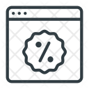 Discount Sticker Coupon Icon
