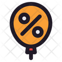 Balloon Air Celebration Icon