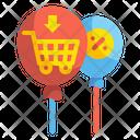 Discount Balloon Icon