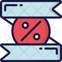Discount Banner Icon