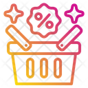Discount Basket Shopping Basket Discount Icon