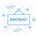 Discount Board Hanging Icon