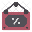 Sign Black Friday Sale Icon