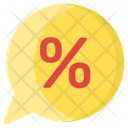 Discount Bubble Icon