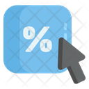 Discount Button Icon