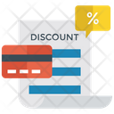 Discount Card Loyalty Program Membership Card Icon