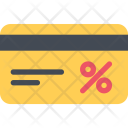 Discount Card Commerce Icon