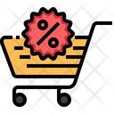 Discount Cart Icon