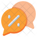 Discount Chat Icon