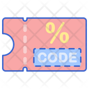 Discount Code Discount Coupon Gift Card Icon