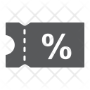 Discount Coupon Sale Icon