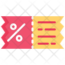 Discount Coupon Voucher Icon