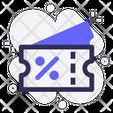Voucher Discount Offer Icon