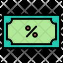 Black Friday Money Discount Icon