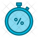 Stopwatch Cyber Monday Icon