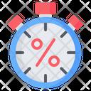 Stopwatch Timer Alarm Icon