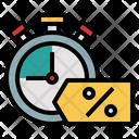 Discount Deadline Icon