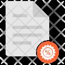 Discount File Icon