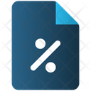 Discount File Icon